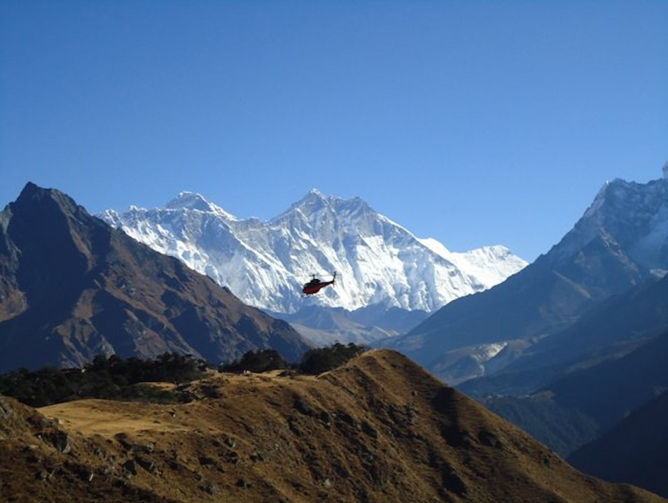 Helicopter Tour in Nepal, Helicopter Sightseeing in Nepal, Nepal Helicopter Tours