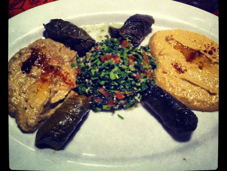 Persian Food with a Side of Belly Dancing Austin Texas United States