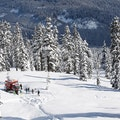 Blackcomb Cat Ski Whistler  Canada