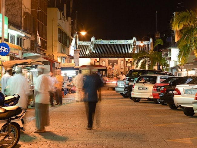 Little India, George Town, Penang, Malaysia