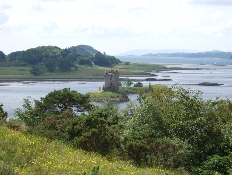 The Castle Stalker, Scotland Argyll and Bute  United Kingdom