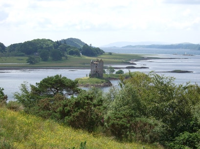 Castle Stalker View, Scotland Argyll and Bute  United Kingdom