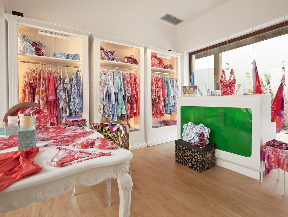 Beachy Clothing And Accessories At Manuel Canovas Paleopanagia  Greece