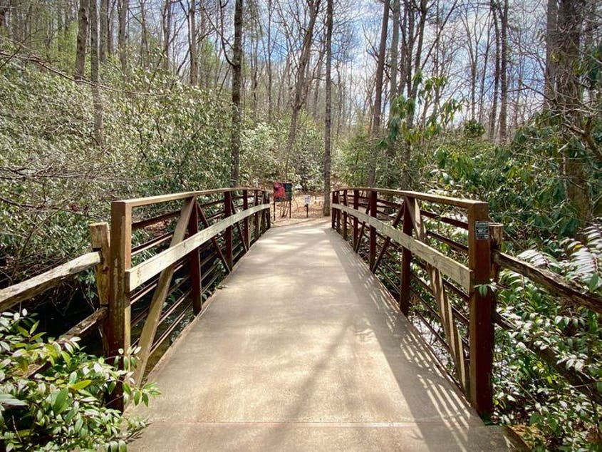 The North Carolina Arboretum is a 434-acre oasis of public gardens just south of Asheville.