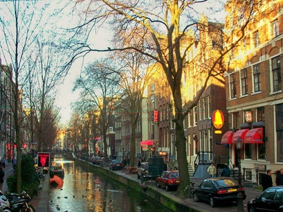 Oudezijds Achterburgwal Amsterdam  The Netherlands