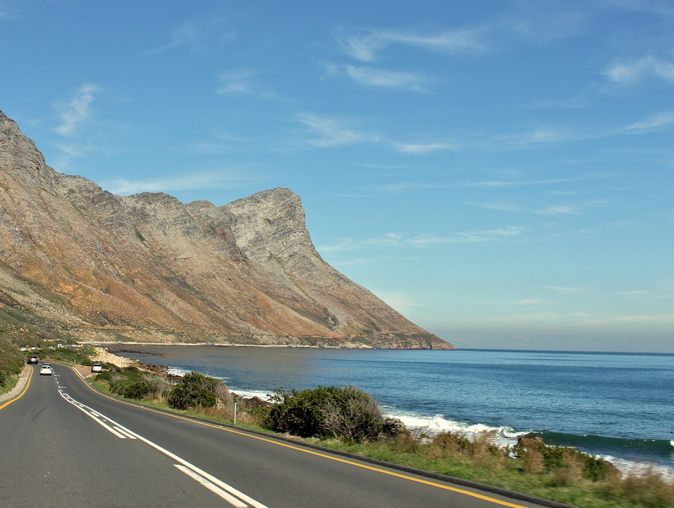 Driving the Cape Whale Route Betty's Bay  South Africa