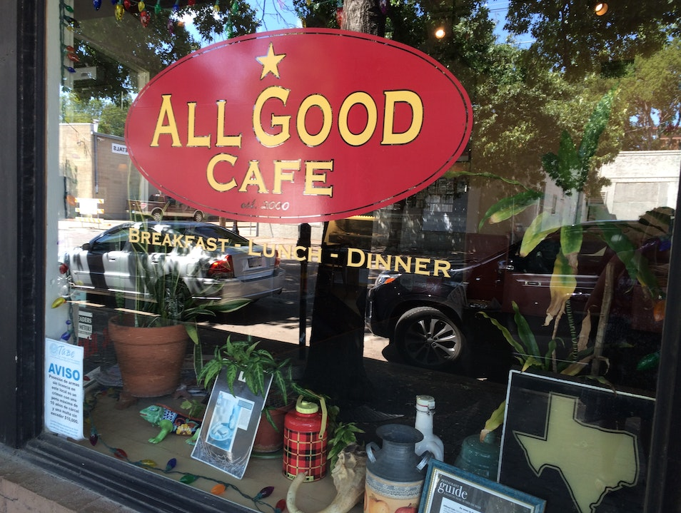 It's all good at the All Good Cafe Dallas Texas United States