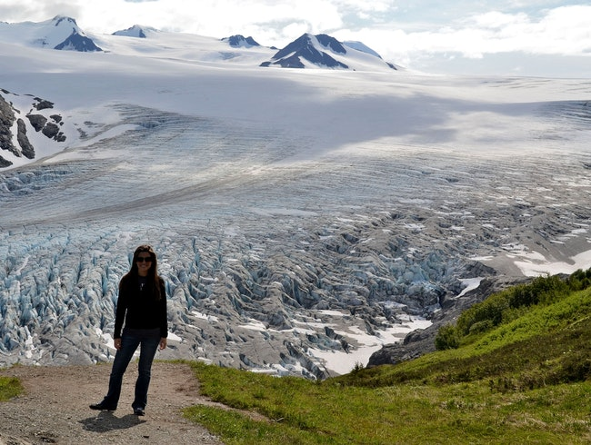 Hike to Harding Icefield