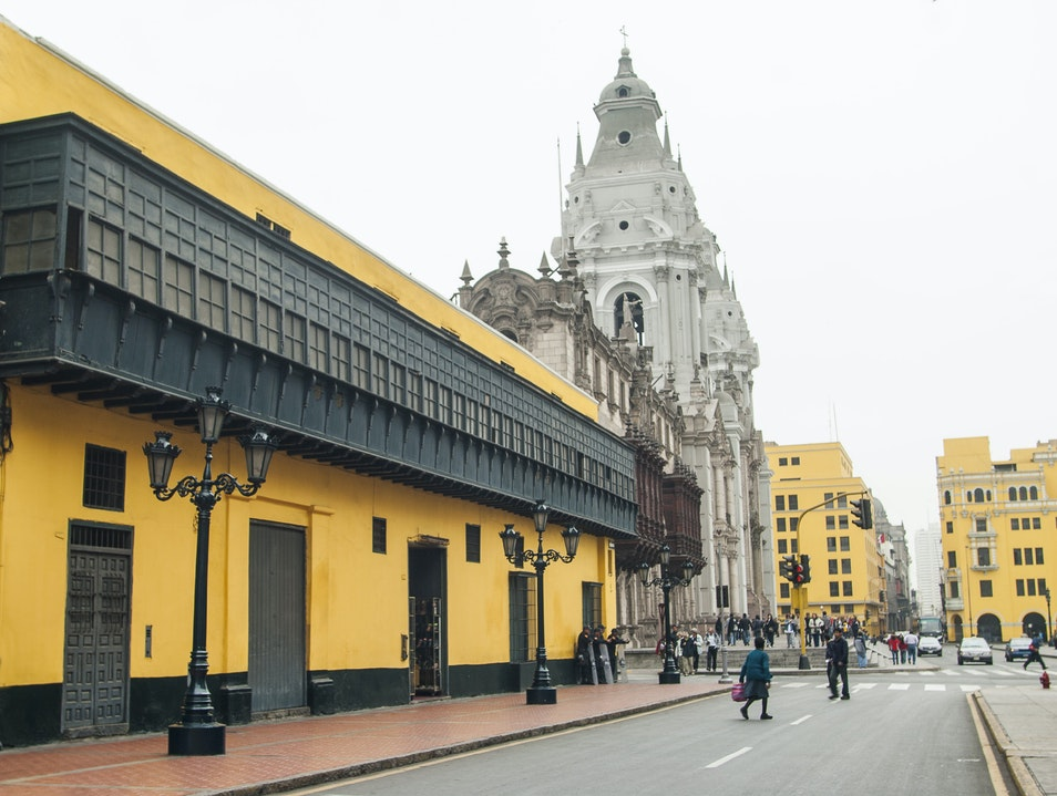 Historic Center of Lima  Arequipa  Peru