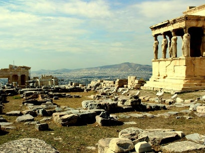 Erechtheion Athens  Greece