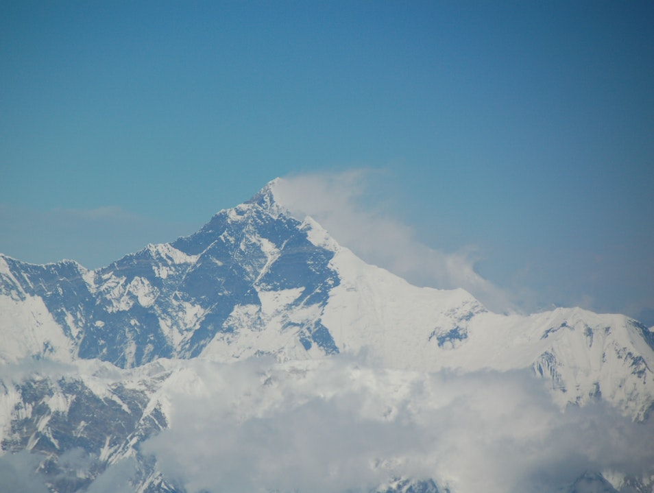 The best view of Everest Khumjung  Nepal