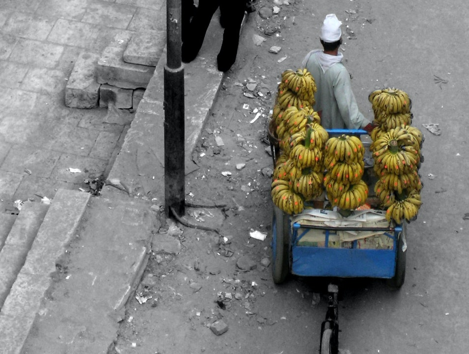 Banana Man Cairo  Egypt