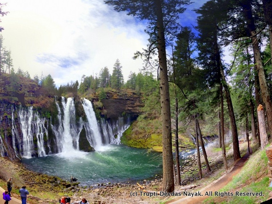 Weekend getaway to Mount Shasta and McCloud Burney California United States
