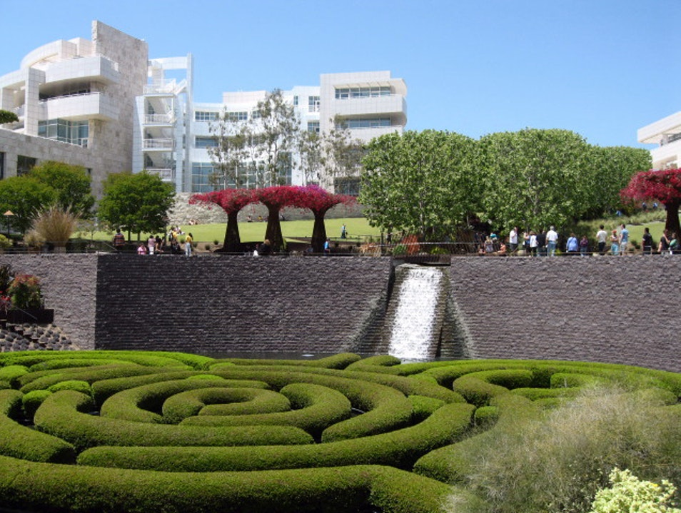 Getty Gardens Los Angeles California United States