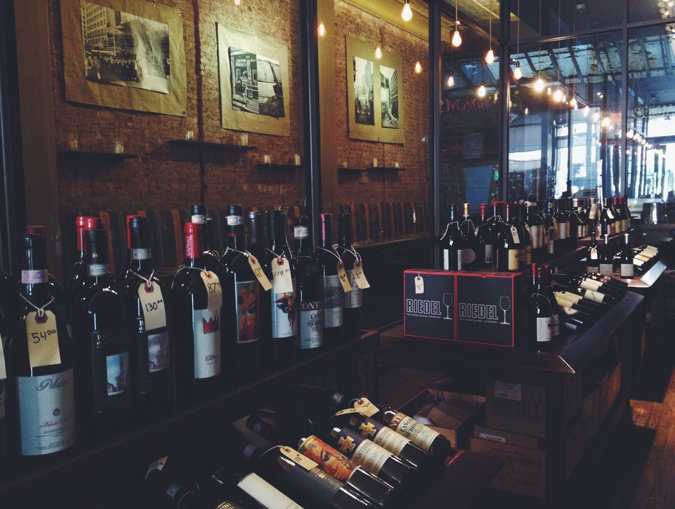 Exceptional Wine Store Opens a Wine Bar