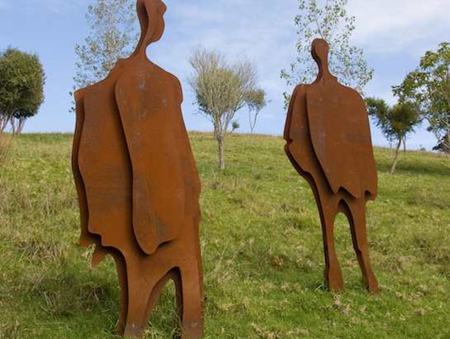Sculpture trail, Matakana, New Zealand