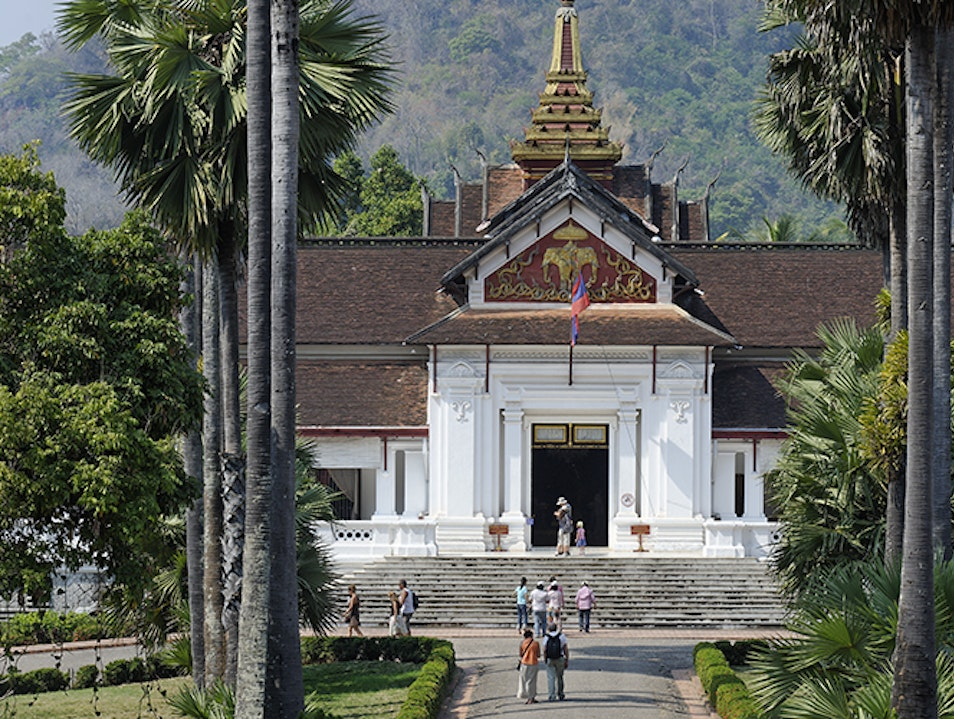 Royal Palace Luang Prabang  Laos