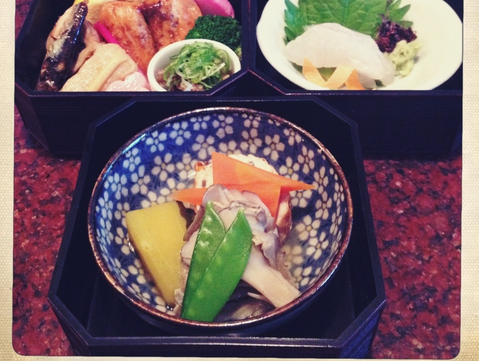 A Kaiseki Lunch in Kyoto
