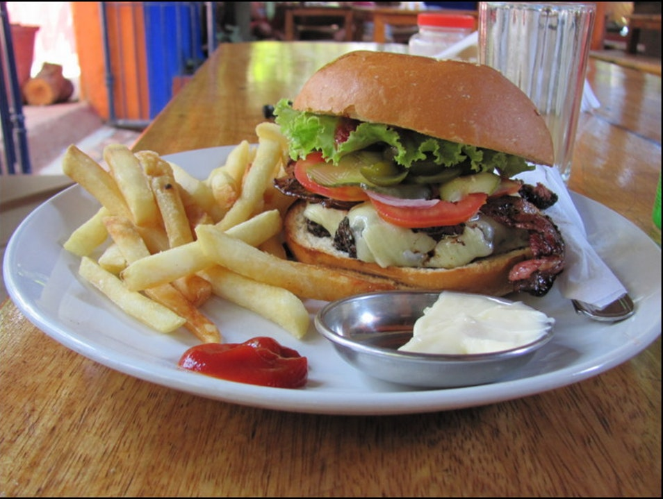 Best burgers in Goa! Arpora  India