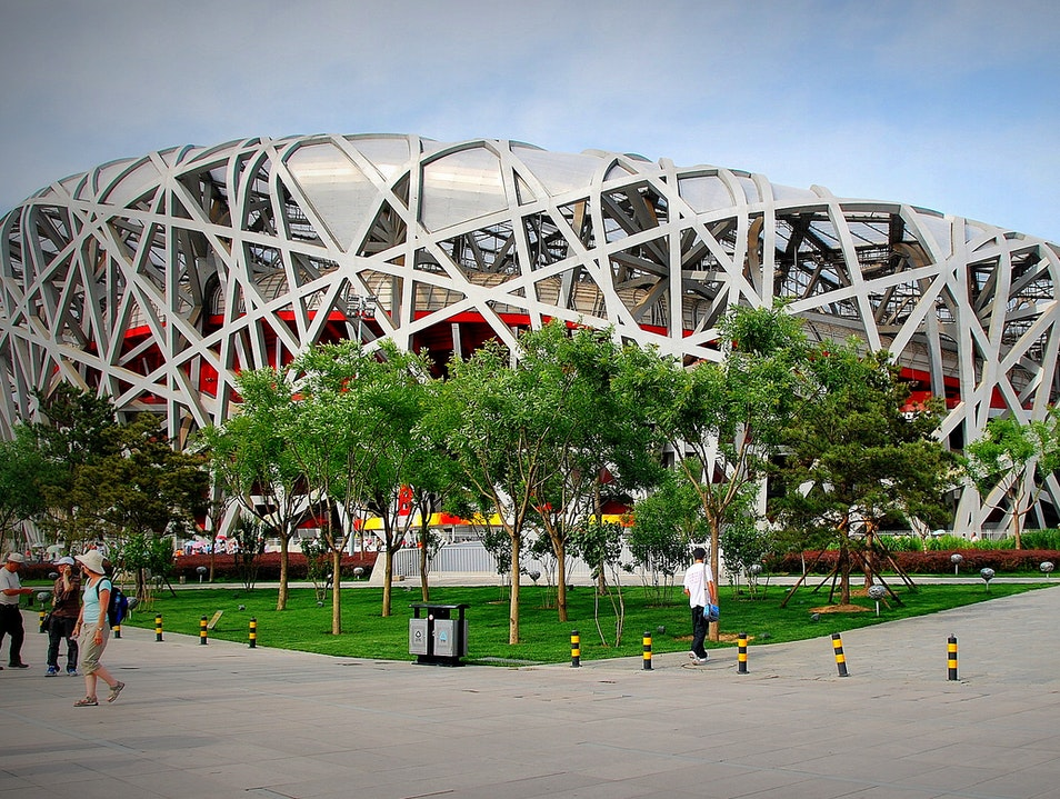 A Bird's Nest of Olympic Proportions Beijing  China