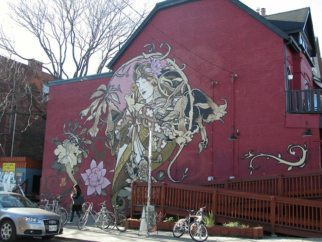 Unlikely Art: Urban art near Kensington Market