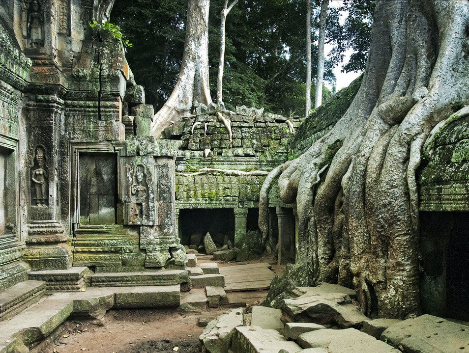 The Temple Where Angkor and the Jungle Collide Siem Reap  Cambodia