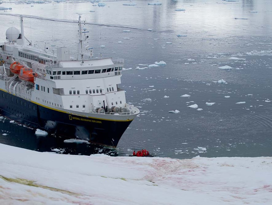 The Explorer to the South   Antarctica