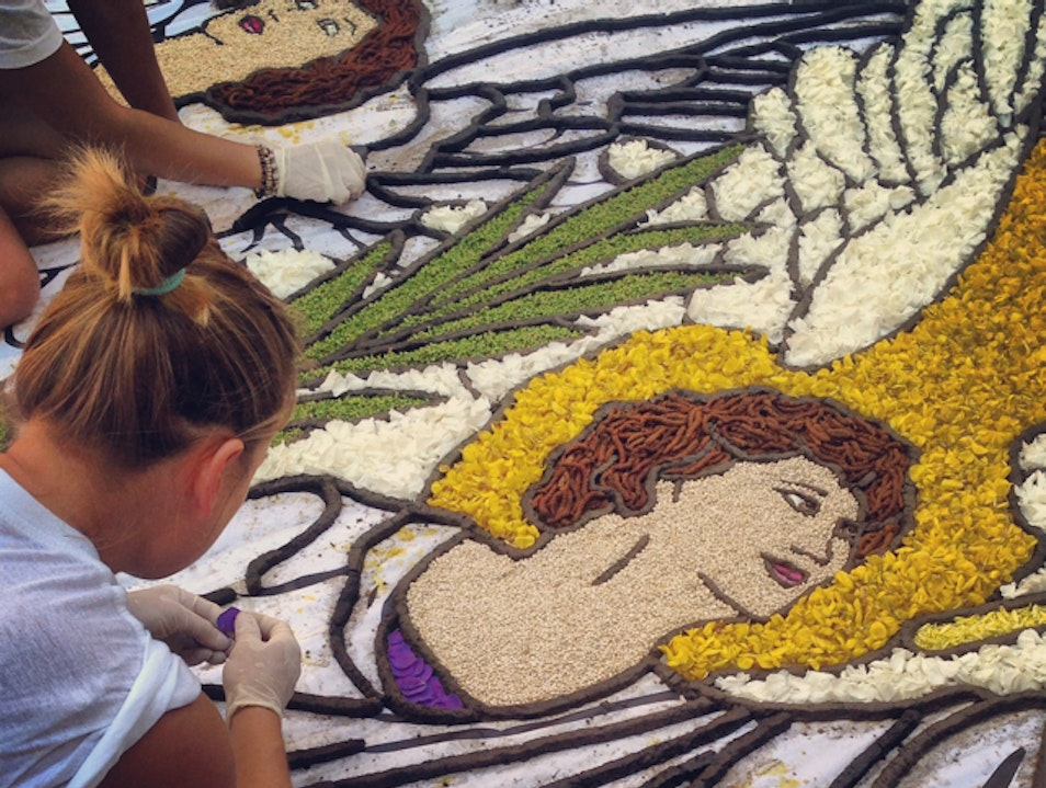 The Annual Infiorata of Bolsena Bolsena  Italy