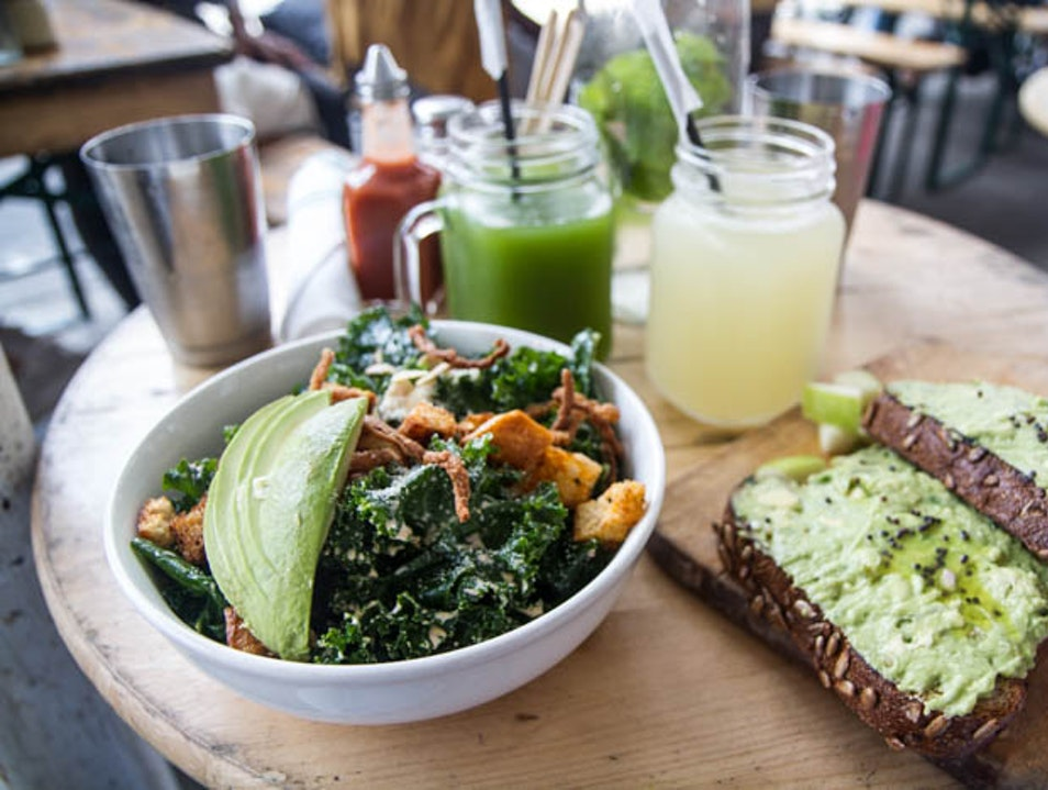 Eat healthy in the Lower East Side  New York New York United States