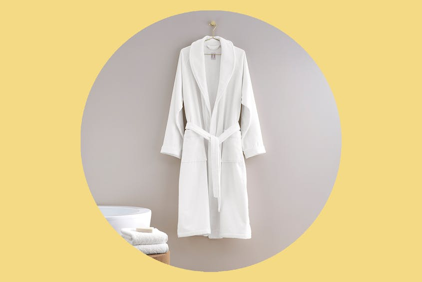 Make every day a spa day with a fluffy robe.