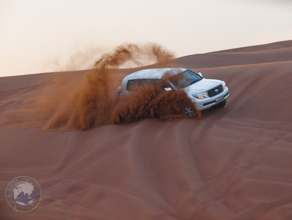 Desert Adventures in the Sand Dunes Sharjah  United Arab Emirates