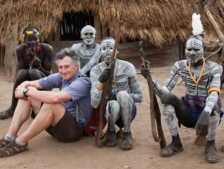 Omo River Valley afternoon