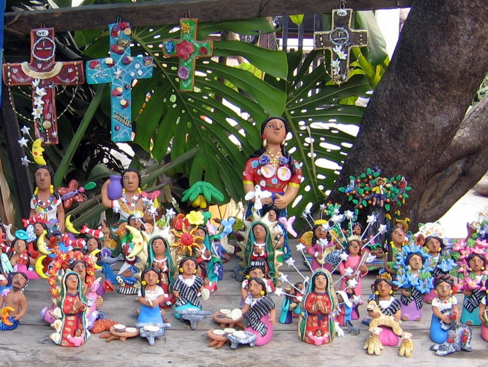 Whimsical Clay Figurines Ocotlán de Morelos  Mexico