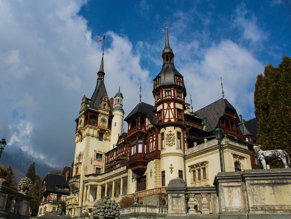 Tour of Peles Castle Sinaia  Romania