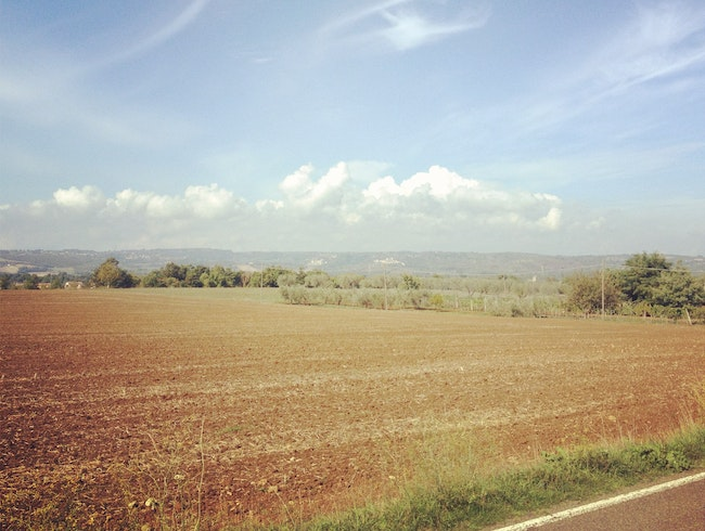 Biking around Lazio