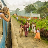 A Sri Lankan Train Ride