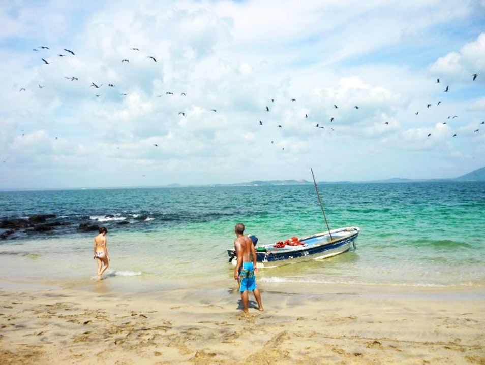 A Locals' Beach for More Than Just Lazing