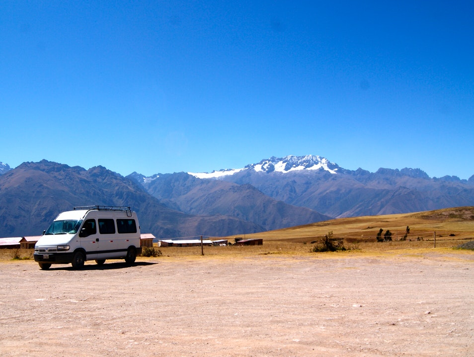 Views of the Andes from Moras