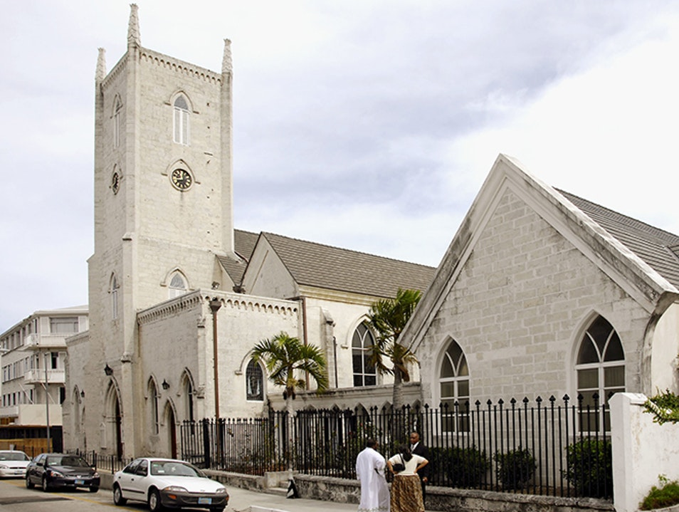 Christ Church Cathedral Nassau  The Bahamas