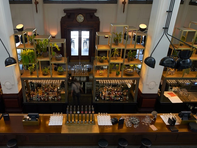 Dine in an old Print House