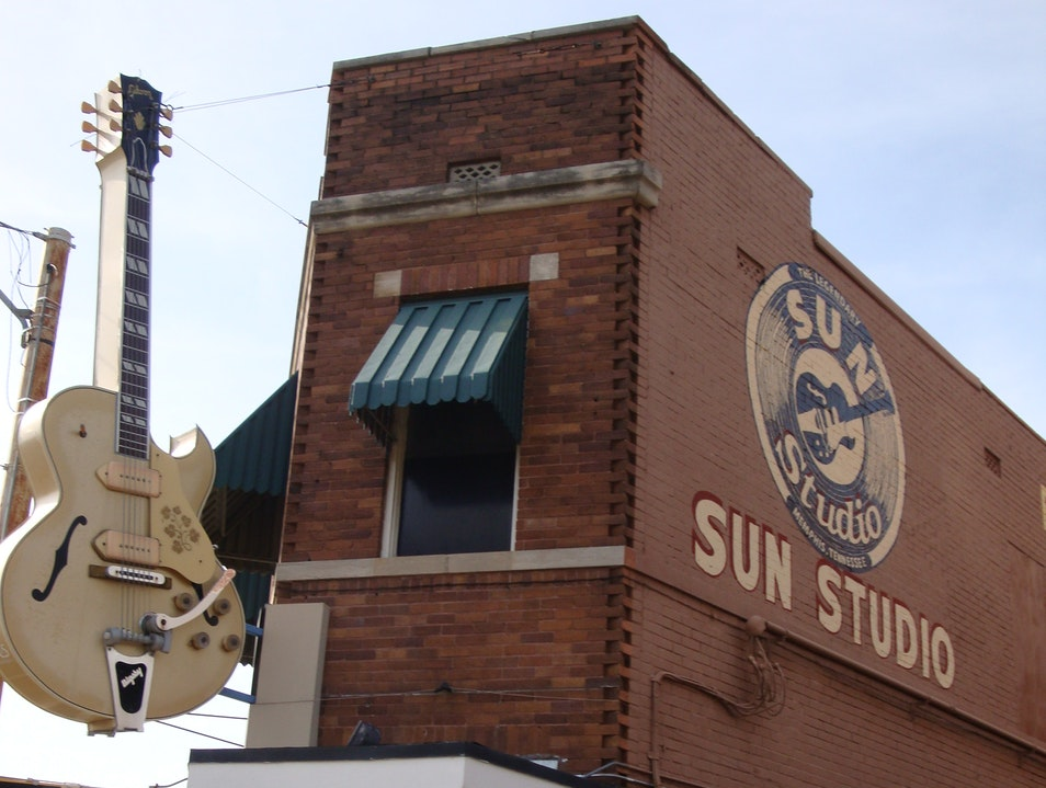 The Studio Where Rock was Born Memphis Tennessee United States