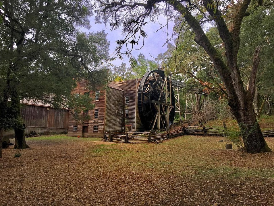 Bale Grist Mill  Saint Helena California United States