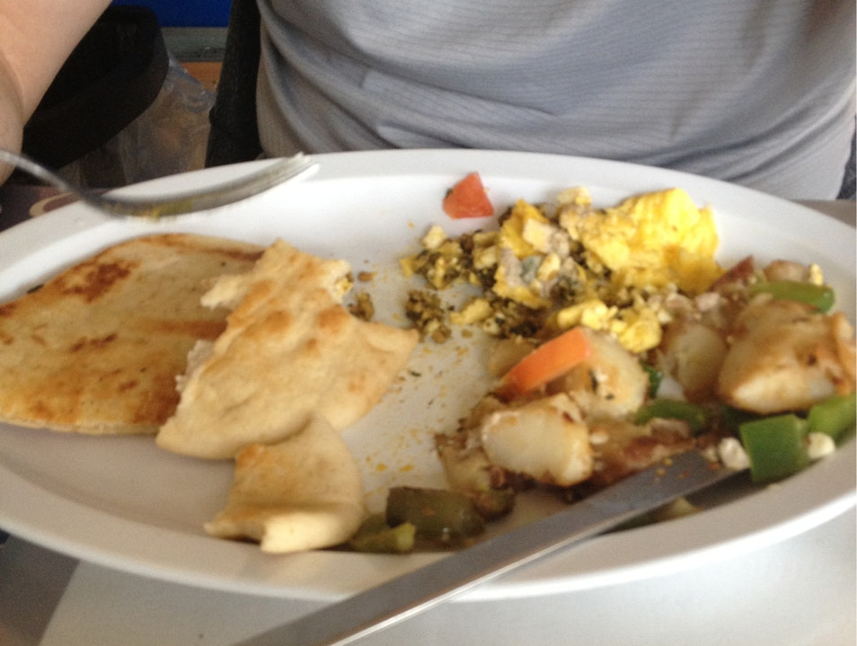 Looks Like American Breakfast - Tastes Like India Lake Worth Florida United States