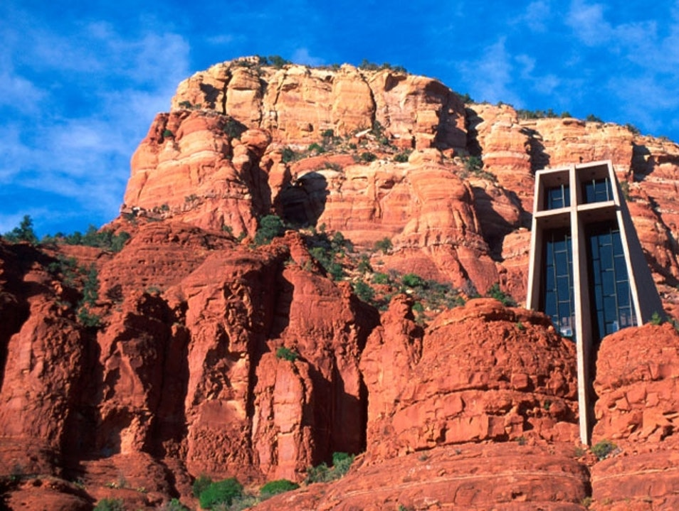 Seek Spiritual Enlightenment at Chapel of the Holy Cross Sedona Arizona United States