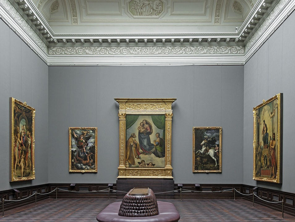 Old Masters Picture Gallery Dresden  Germany