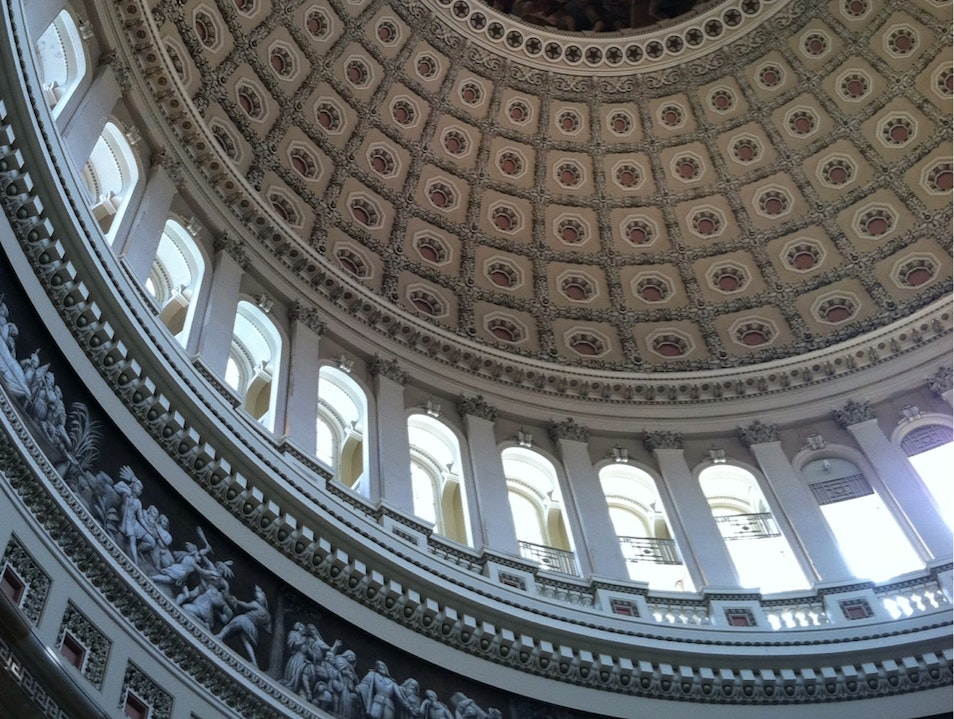 Capitol Rotunda Washington, D.C. District of Columbia United States