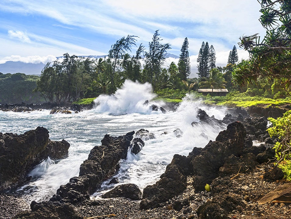 Keanae Peninsula Maui County Hawaii United States