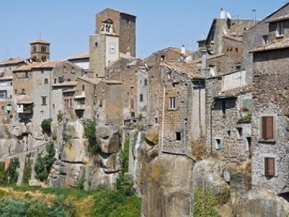 The medieval village of Vitorchiano Vitorchiano  Italy