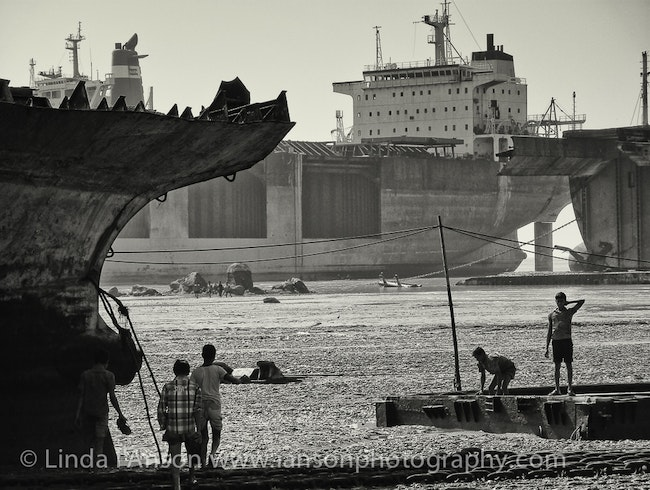 Inside the Secret Ship Breaking Yards in Chittagong