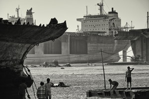 Ship breaking Yards